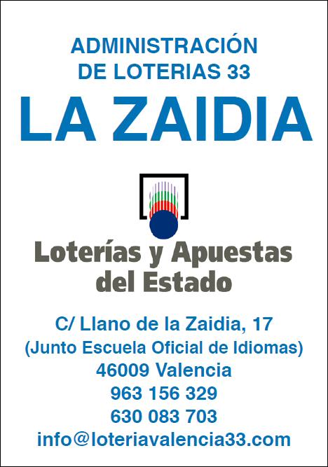 admin loteria Zaidia