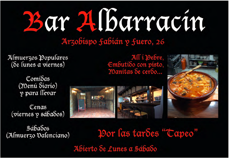 bar albarracin